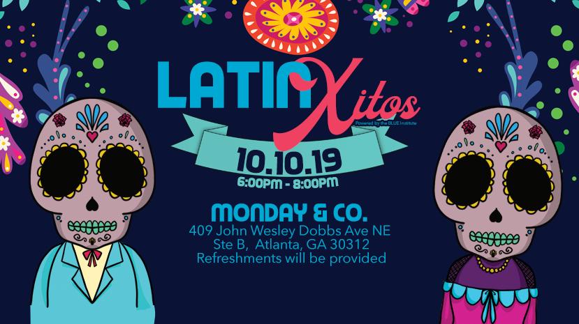 LatinXitos banner with logo by Atlanta graphic design agency SkyCastle Productions