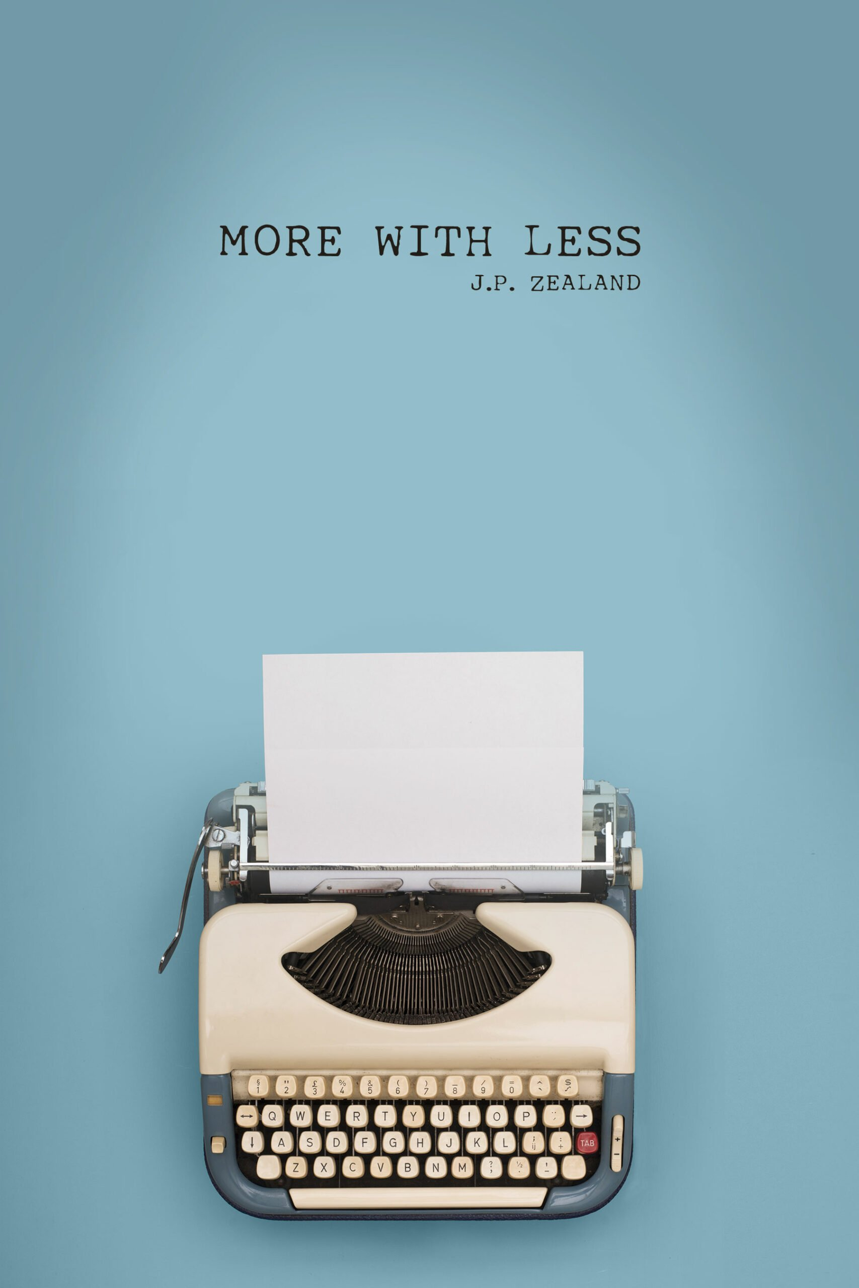 """Book cover for """"More With Less"""" a graphic design work by SkyCastle Productions based in Atlanta"""