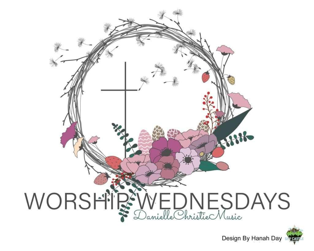 Worship Wednesdays logo by Atlanta graphic design agency SkyCastle Productions