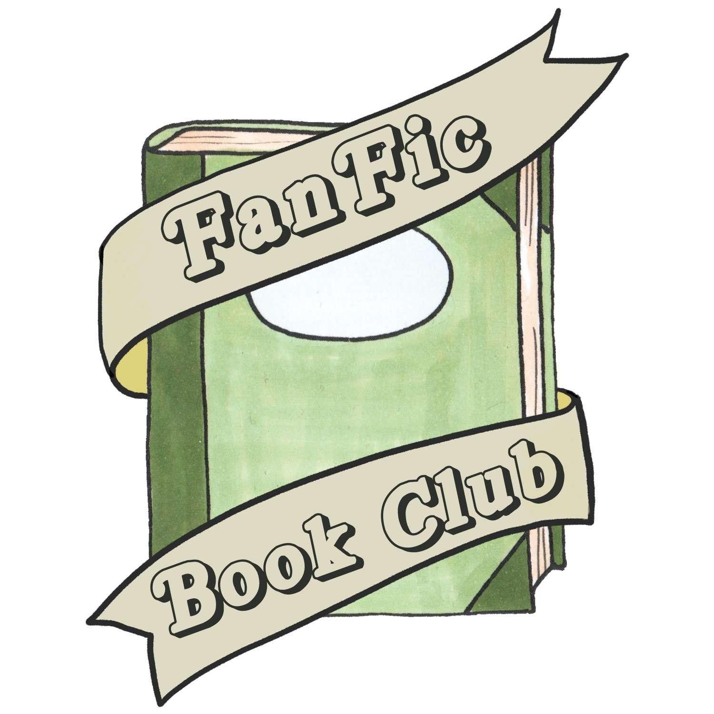 Fan Fic Book Club Podcast logo by Atlanta graphic design agency SkyCastle Productions