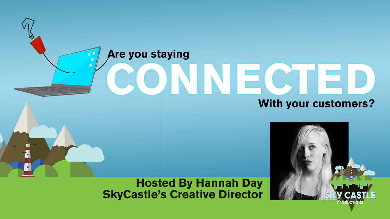 Are you Staying Connected With your clients? A video post about how you can stay connected to your clients online.