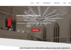 Screen shot of the Illuminations, Inc.'s website designed by Atlanta web design agency SkyCastle Productions