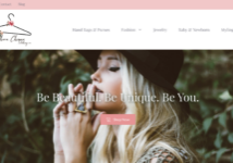 Souther Chique Clothing Co website design by Atlanta based Web Design company SkyCastle Productions